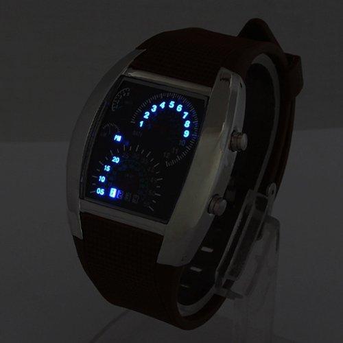 Lightinthebox 174 Blue Led Light Aviation Pilot Speedometer